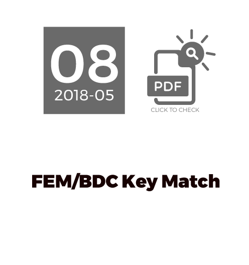 FEM/BDC Key Match
