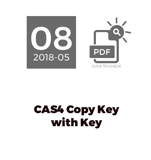 CAS4 Copy Key With Key