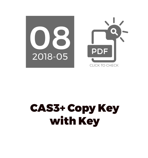 CAS3+ Copy Key With Key