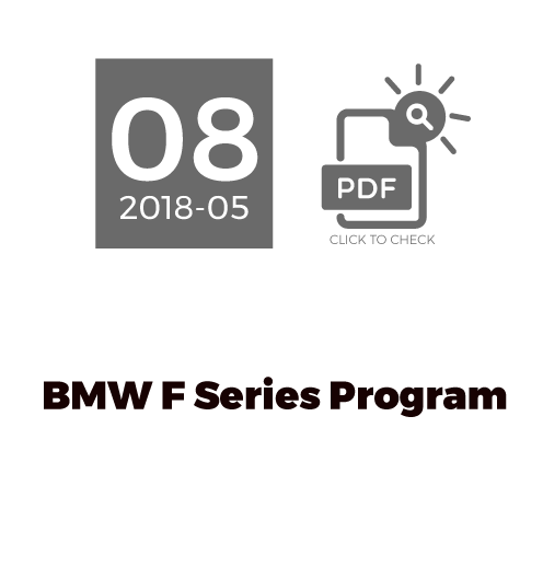 BMW F Series Program